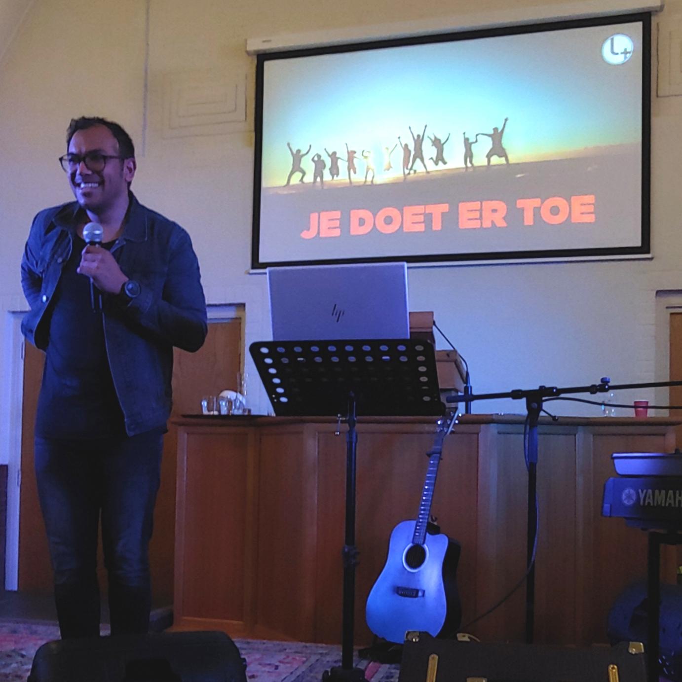 Pastor Mishaël Pietersz
